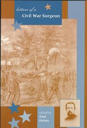 Cover of: Letters of a Civil War surgeon by Watson, William