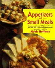 Cover of: Appetizers and small meals | Mable Hoffman