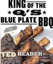 Cover of: King of the Q's Blue Plate BBQ | Ted Reader