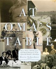 Cover of: At Oma's Table | Doris Schechter