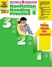 Cover of: Nonfiction Reading Practice, Grade 4 by Kathleen McFarren