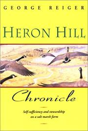 Cover of: Heron Hill chronicle | George Reiger