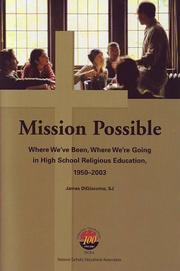 Cover of: Mission Possible | James J. DiGiacomo