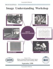 Cover of: DARPA Image Understanding Proceedings 1990 | DARPA