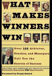 Cover of: What Makes Winners Win | Charlie Jones