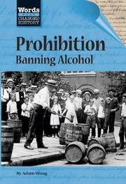 Cover of: Words That Changed History - Prohibition | Stuart A. Kallen