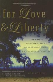 Cover of: For Love and Liberty by Robin Young
