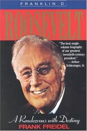 Cover of: Franklin D. Roosevelt by Frank Freidel