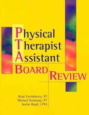 Cover of: Physical Therapist Assistant | Brad Fortinberry