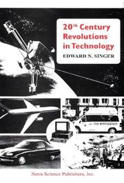Cover of: 20th century revolutions in technology | Edward Singer