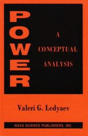 Cover of: Power | Valeri G. Ledyaev