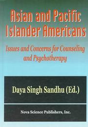 Cover of: Asian and Pacific Islander Americans | Daya Singh Sandhu