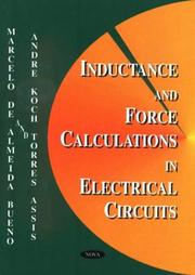 Cover of: Inductance and force calculations in electrical circuits | Marcelo de Almeida Bueno