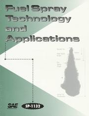 Cover of: Fuel Spray Technology and Applications by Society of Automotive Engineers.