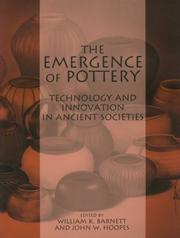 Cover of: EMERGENCE OF POTTERY | William Kinne Barnett