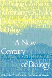 Cover of: NEW CENTURY BIO | KRESS J W