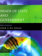 Cover of: Heads of State and Government | John DaGraca