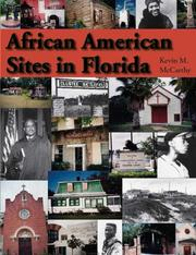Cover of: African American Sites in Florida | Kevin M. McCarthy