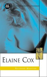 Cover of: Elaine Cox by Richard Manton