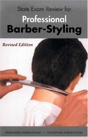 Cover of: State Exam Review for Professional Barber-Styling | Milady