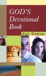 Cover of: God's Devotional Book For Teens | John C. Maxwell
