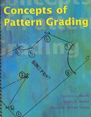 Cover of: Concepts of pattern grading | Carolyn L. Moore