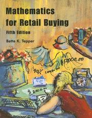 Cover of: Mathematics for Retail Buying | Bette K. Tepper