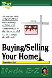 Cover of: Buying/selling your home made E-Z | Clovis Chaney-Dixon