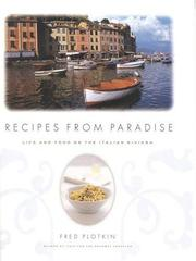 Cover of: Recipes from paradise | Fred Plotkin