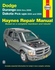 Cover of: Dodge Dakota & Durango, '04-'06 | John Harold Haynes
