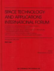 Cover of: Space Technology and Applications International Forum - 1999 by Mohamed S. El-Genk