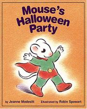 Cover of: Mouse's Halloween party by Jeanne Modesitt