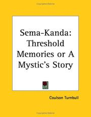 Cover of: Sema-Kanda | Coulson Turnbull