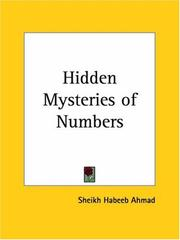 Cover of: Hidden Mysteries of Numbers | Sheikh Habeeb Ahmad