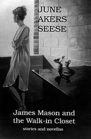 Cover of: James Mason and the walk-in closet | June Akers Seese