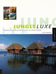 Cover of: Jungle Luxe | Justin Henderson