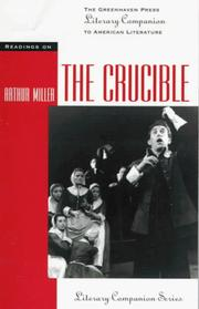 Cover of: The Crucible (Greenhaven Press Literary Companion to American Authors) | Thomas Siebold