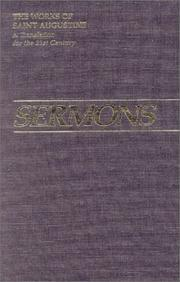 Cover of: Sermons 94a-150 (Works of Saint Augustine) by Augustine of Hippo