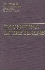 Cover of: Expositions Of The Psalms 51-72 (Works of Saint Augustine) | Augustine of Hippo