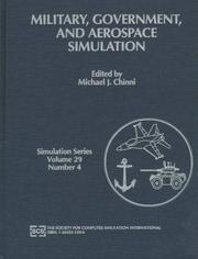 Cover of: Military, government and aerospace simulation | Conference on Military, Government, and Aerospace Simulation (1997 Atlanta, Ga.)