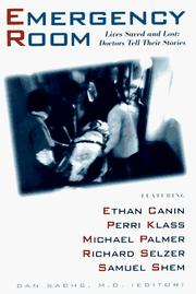 Cover of: The Emergency Room by Dan Sachs