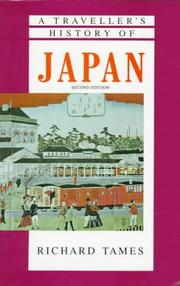 Cover of: A traveller's history of Japan | Richard Tames