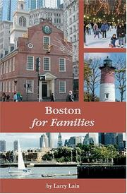 Cover of: Boston for families | Larry Lain