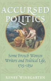 Cover of: Accursed Politics by Renee Winegarten