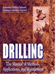 Cover of: Drilling |