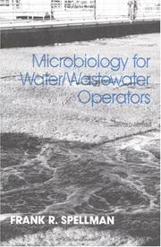 Cover of: Microbiology for Water and Wastewater Operators | Frank R. Spellman