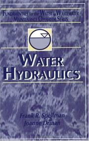 Cover of: Water hydraulics by Frank R. Spellman