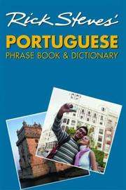 Cover of: Rick Steves' Portuguese phrase book & dictionary by Rick Steves