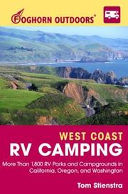 Cover of: Foghorn Outdoors West Coast RV Camping by Tom Stienstra
