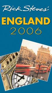 Cover of: Rick Steves' England 2006 (Rick Steves) by Rick Steves